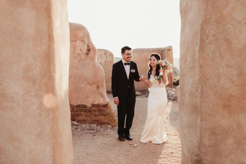 joshua tree elopement photographer ranch ruins